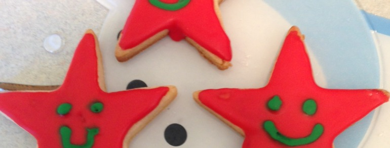 Day Dreams Foundation Christmas cookies!