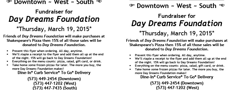 Microsoft Word - day dreams 3.19.15